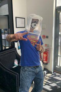 Superman dentist